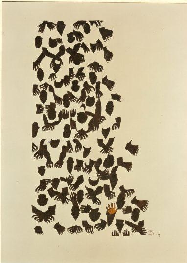 Hands & Feet book illustration Mayke Sassen visual artist