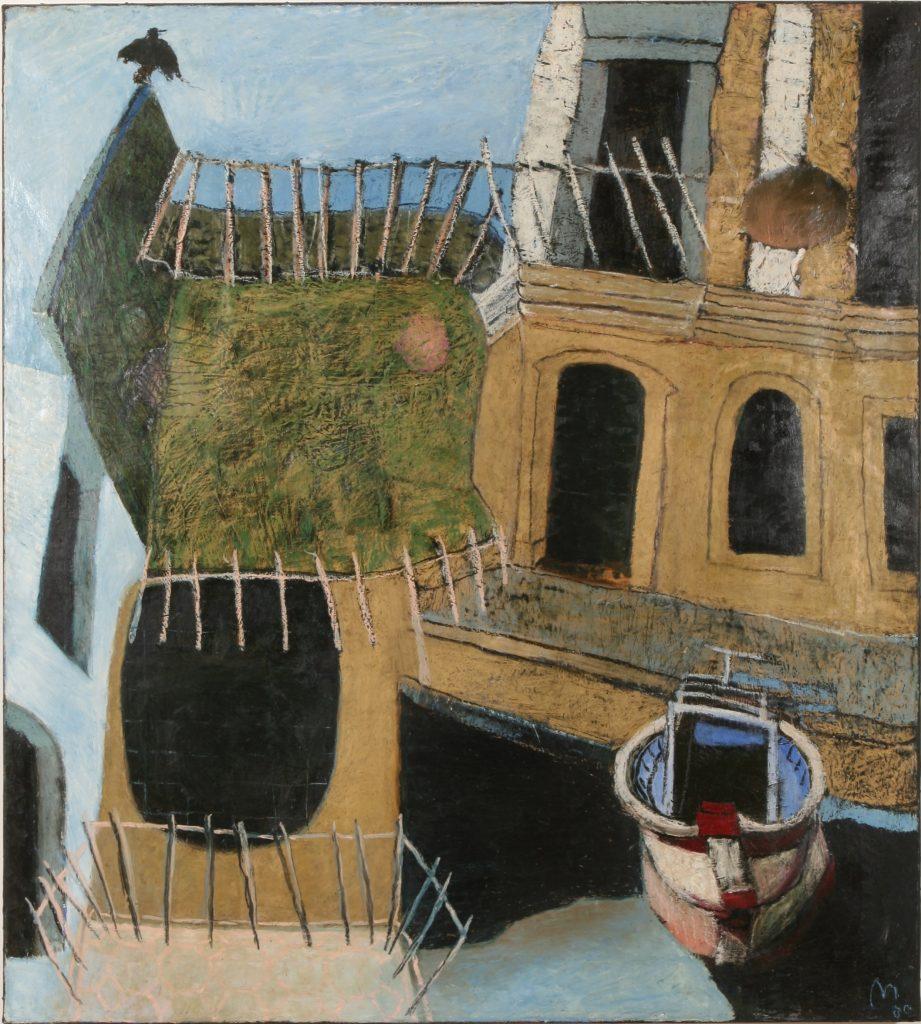 Sas en Mer, Port Grimaud (private collection) - Mayke Sassen artiste-peintre
