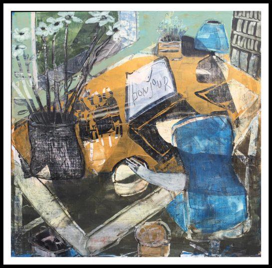 Bonjour Mayke Sassen Nouvelles oeuvres New Artwork