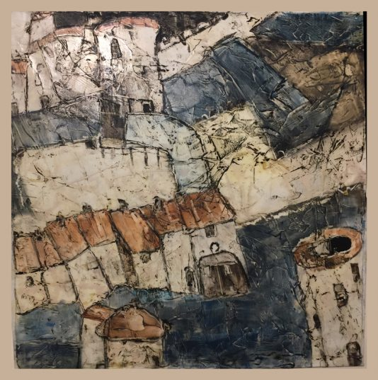 Le Pont Mayke Sassen Nouvelles oeuvres New Artwork